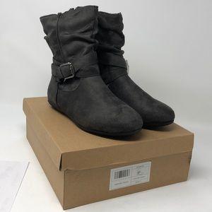 Buckle Booties Boots